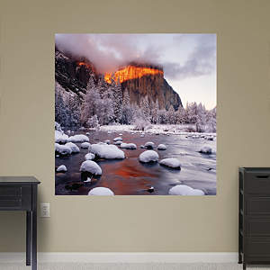Band of Light on El Capitan by Michael Frye Fathead Wall Decal